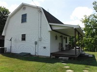 54.55 Ac, Home, Barn, Outbuildings : Celina : Clay County : Tennessee