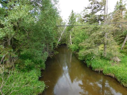 Stone Cabin On Gilchrist Creek : Atlanta : Montmorency County : Michigan