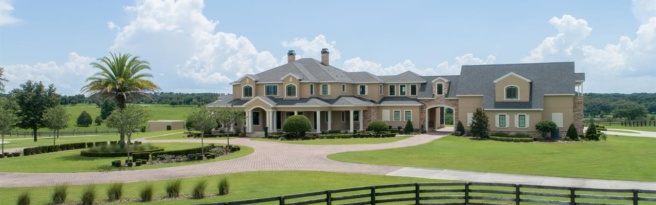 Auction-Luxury Equestrian Estate : Lady Lake : Lake County : Florida