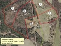 64.8+/- Acres Located -Mcgrady,Nc : McGrady : Wilkes County : North Carolina