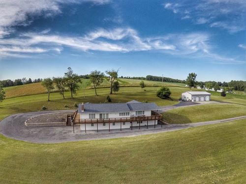 28 +/- Acres, Custom Ranch Home : Millville : Columbia County : Pennsylvania
