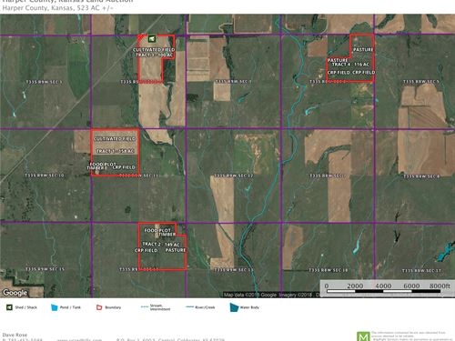 Auction Dream Hunting & Farmland : Attica : Harper County : Kansas