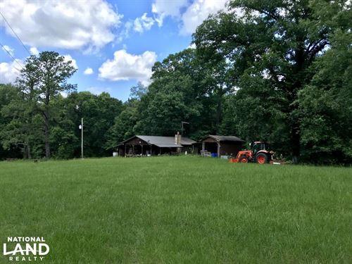 The Zimco Camp & Creek Tract : Jackson : Clarke County : Alabama