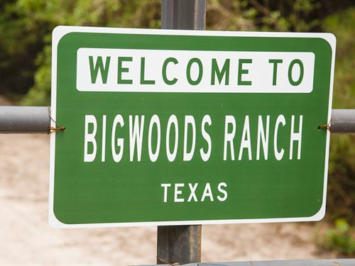 Big Woods Ranch : Trinity : Texas