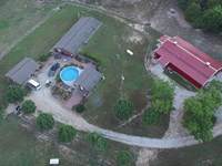 372 Acre Farm With Home, Lodge, Ba : Mountain View : Shannon County : Missouri