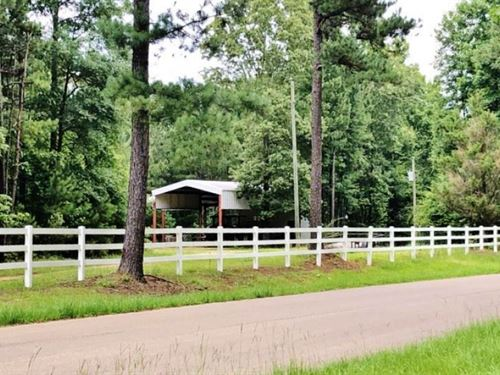 86.65 Acres With Rv Shed For Sa : Union Church : Jefferson County : Mississippi