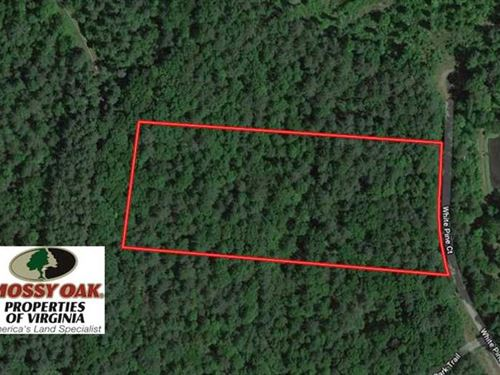 5 Acres of Residential Hunting Lan : Monroe : Amherst County : Virginia