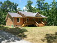 Tn Mtn Home With 8.44 Acres, Stream : Pikeville : Bledsoe County : Tennessee