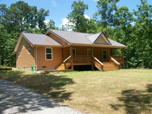 Tn Mtn Home, 8.44 Acres, Stream : Pikeville : Bledsoe County : Tennessee