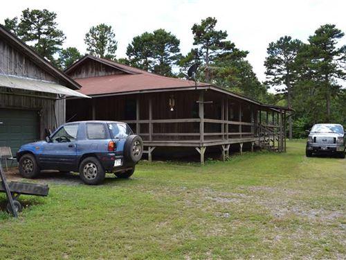 1978 Sq, Ft, Home on 7 Surveyed : Dennard : Van Buren County : Arkansas