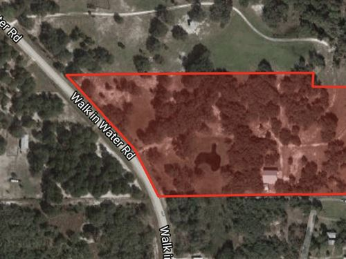 15Acres Lakefront Paradise With : Lake Wales : Polk County : Florida