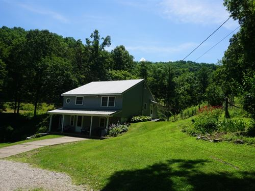 Beautiful Farm, 95.5 Acres : Chloe : Calhoun County : West Virginia