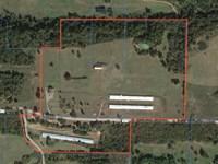 45 Acre Horse Farm With 4 Br Home : Altus : Franklin County : Arkansas