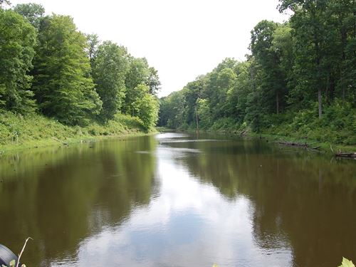 Spring Run - 66 Acres : Vinton : Gallia County : Ohio
