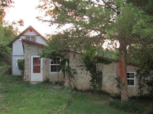 4 Bedroom Home With 5.25 M/L Acres : Tahlequah : Cherokee County : Oklahoma