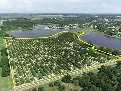 32 Acres Residential Development : Lake Wales : Polk County : Florida