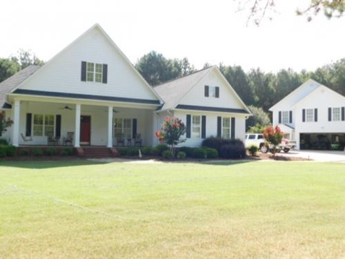 60 Acres With Home In Scott County : Morton : Scott County : Mississippi