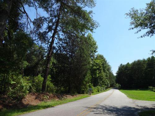35 Acres, Unrestricted Acreage : Pickens : South Carolina