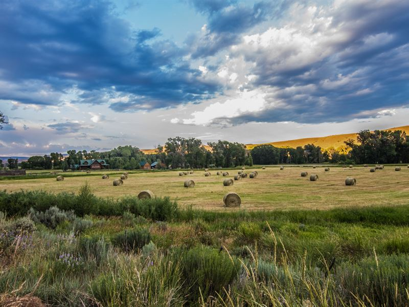 C Lazy J Ranch : Savery : Carbon County : Wyoming
