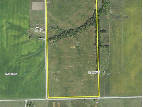 80 Ac., M/L, Farm For Sale in Vern : Bonaparte : Van Buren County : Iowa
