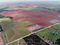160 Acres Farmland And Grassland : Geary : Canadian County : Oklahoma