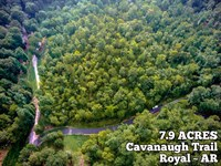 7.9 Acres - This Can Be Your Hill : Royal : Garland County : Arkansas