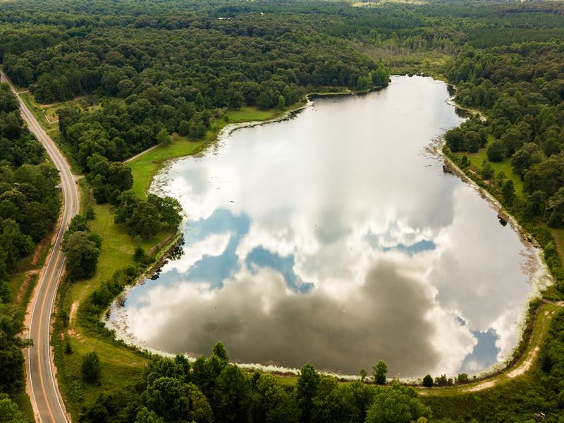 Allendale Lake : Farm for Sale in Fort Valley, Peach ...