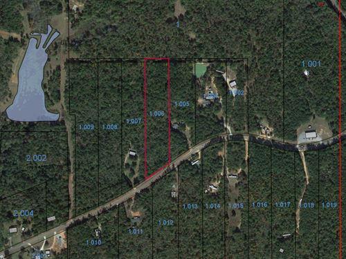Lot 14 Grass Farm Road : Wetumpka : Elmore County : Alabama