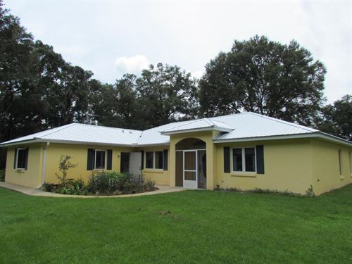 Custom Home On 20 Acres 776154 : Chiefland : Levy County : Florida