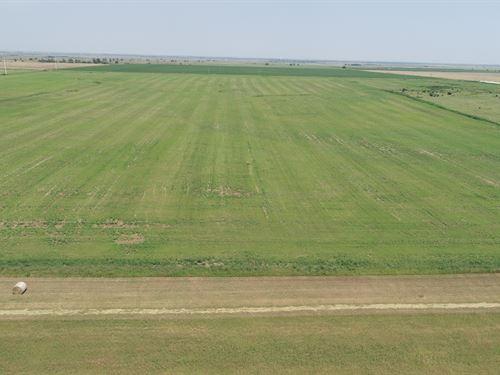 160 Acres Cropland & Grass : Wakita : Grant County : Oklahoma