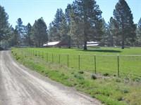180 Acre Horse Ranch : Chiloquin : Klamath County : Oregon