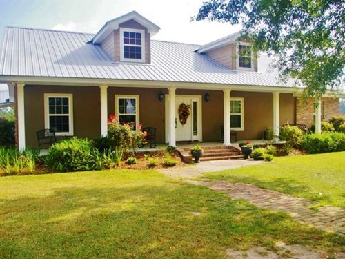 3 Br, 2 Bath Home For Sale 238 Acre : Osyka : Pike County : Mississippi
