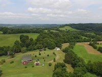 Home Overlooking 66 Scenic Acres : Hampshire : Maury County : Tennessee