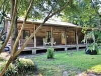 Log Cabin, 44 Acres Adjoining Homoc : Meadville : Franklin County : Mississippi