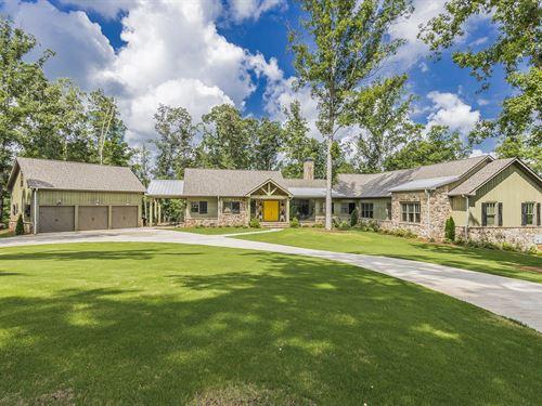 Stunning-One-Of-A-Kind Custom Home : Watkinsville : Oconee County : Georgia