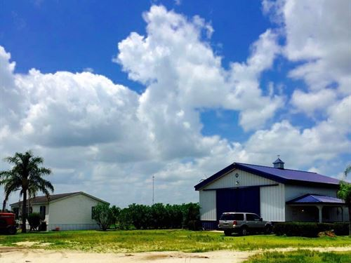70 Acre Farm With Home And Shop : Fort Pierce : Saint Lucie County : Florida