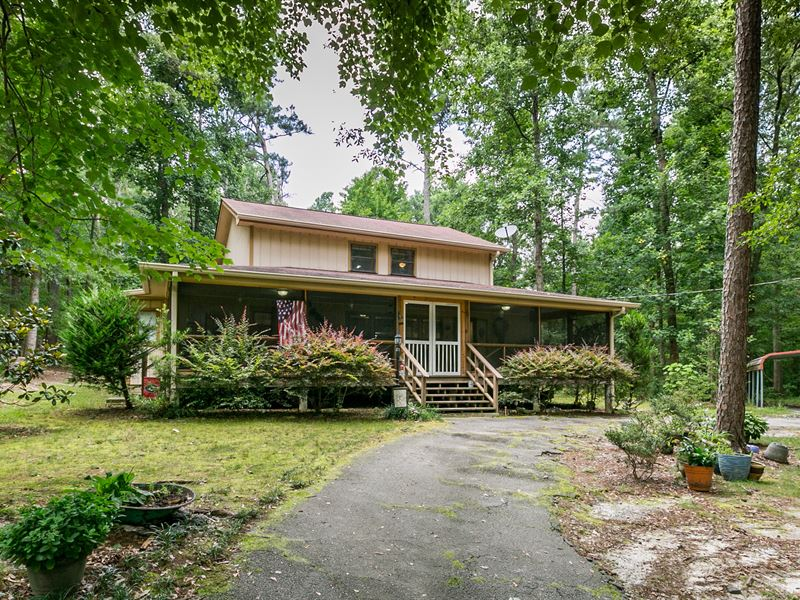 Custom Home On 5+ Wooded Acres : Conyers : Rockdale County : Georgia