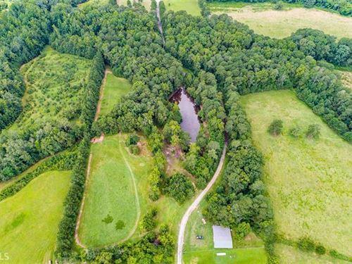 11.68 Acres In Private Dr Community : Loganville : Walton County : Georgia