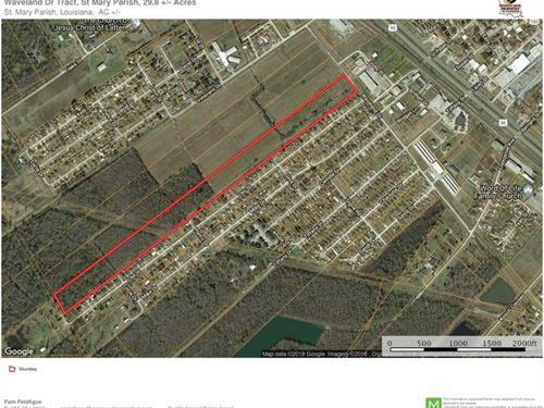 Waveland Dr Tract, St Mary Parish : Patterson : Saint Mary Parish : Louisiana