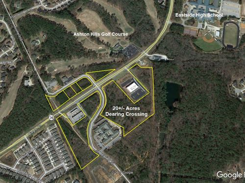 20+ Acres Of Commercial Land : Covington : Newton County : Georgia