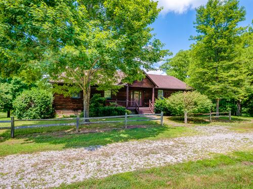 43 Acres, Home, Creek : Hohenwald : Lewis County : Tennessee