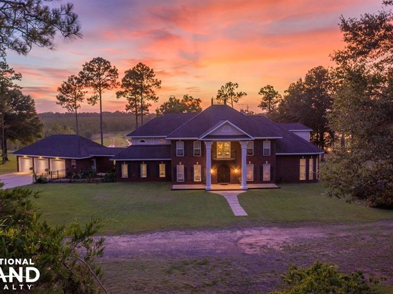 Wilmer Lakefront Home Farm Farm For Sale In Wilmer Mobile County Alabama 157531 Farmflip