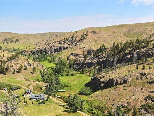 Trout Creek Ranch : Absarokee : Stillwater County : Montana