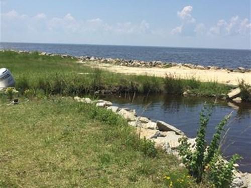 Waterfront Coastal Property : Columbia : Tyrrell County : North Carolina