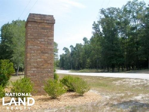 Large Acre Equestrian Development : Camden : Kershaw County : South Carolina