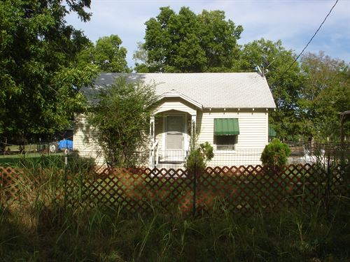 Country Home With Acreage In Ne Tx : Detroit : Red River County : Texas