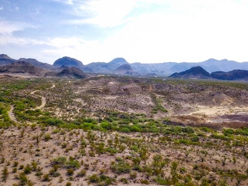 80 Acres With Good Water Potential : Terlingua : Brewster County : Texas
