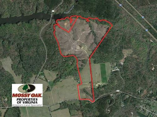 Under Contract, 118 Acres of Resi : Toano : James City County : Virginia