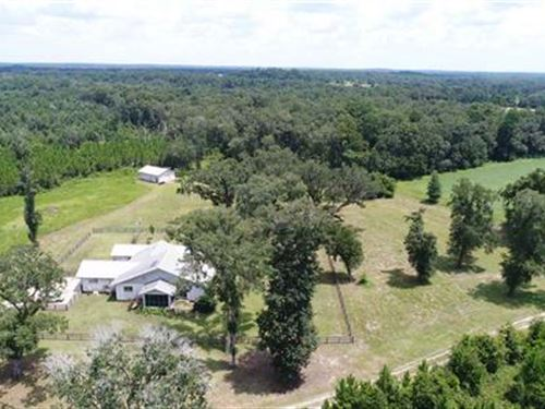 Gorgeous Home With Lots Of Land : Greenville : Madison County : Florida