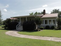 Irrigated Farmland + 3 Homes : Harrison : Washington County : Georgia
